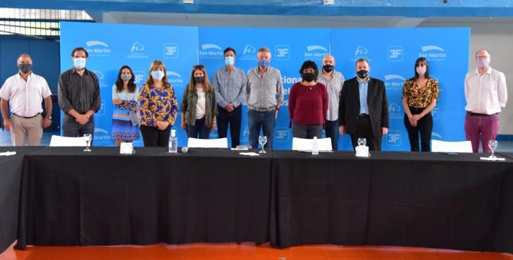En San Martín se presentó el Programa Nacional de Educación para el Trabajo y Desarrollo Sostenible